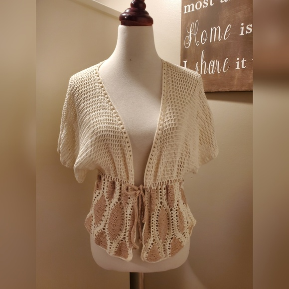 Echo Sweaters - Crocheted Cardigan